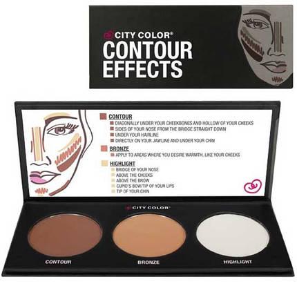 Палитра пудр для контурирования City Colors™ Contour Effects Palette, фото 2