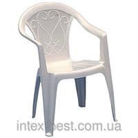 Пластиковое кресло Ole (Malibu) белое