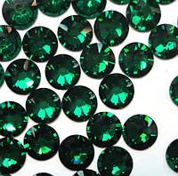 Стразы темно-зеленые, 100 шт.