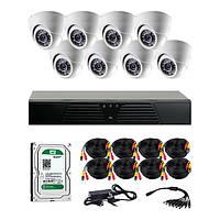 AHD комплекты видеонаблюдения CoVi Security HVK-4003 AHD KIT HDD 1 Тб