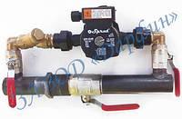 Байпас отопления короткий с краном Ду50