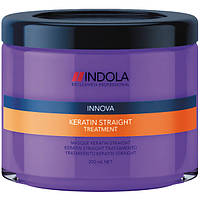 Indola Keratin straight treatment Маска Кератиновое выпрямление, 200 мл.