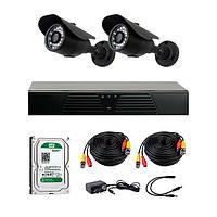 AHD комплекты видеонаблюдения CoVi Security HVK-2001 AHD KIT
