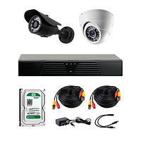 AHD комплекты видеонаблюдения CoVi Security HVK-2002 AHD KIT