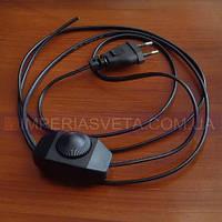 Выключатель для бра, торшера, светильника IMPERIA с вилкой на шнуре с плавной регулировкой яркости LUX-62324