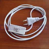 Выключатель для бра, торшера, светильника IMPERIA с вилкой на шнуре LUX-146060