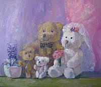 Картина «Мишки. Свадьба» картины для детской комнаты