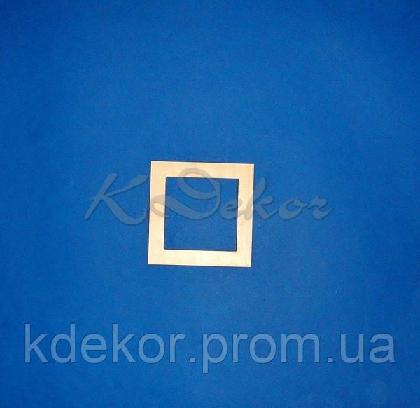Рамка для фото (размер под фото 10х10см.)