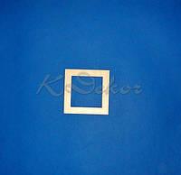 Рамка из фанеры (размер под фото 10х10см.)