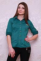 Женская рубашка из замшевой ткани, фото 1