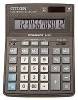 Citizen Correct D-312 калькулятор настольный
