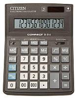 Citizen Correct D-314 калькулятор настольный