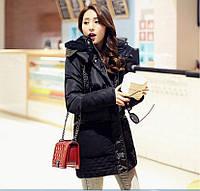 Женская зимняя куртка натуральный пуховик