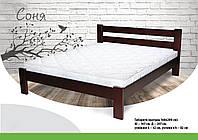 Кровать из массива бука  Соня
