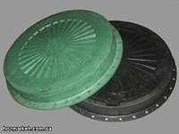 Люк смотровых колодцев полимерный ( канализационный пластиковый )  )