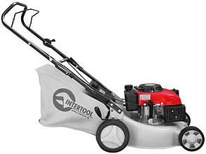 Бензиновая газонокосилка Intertool LM-4540 ширина среза 40 см