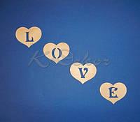 Сердечки LOVE №1