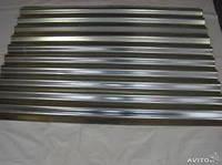 Шифер металлический оцинкованый 0,4 мм ( 2 х 0,9)