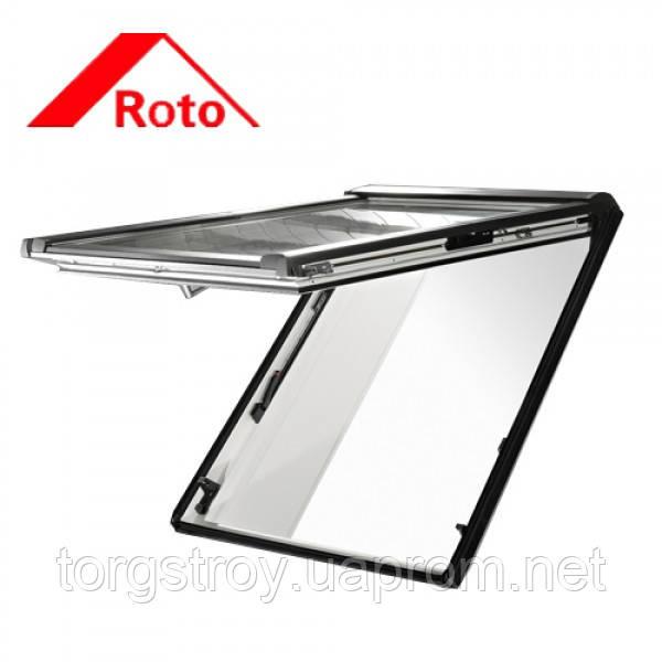 Мансардное окно Roto Designo R8 74/118 деревянное