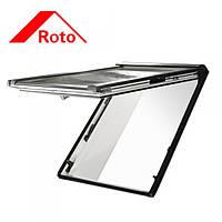 Мансардное окно Roto Designo R8 94/160 деревянное