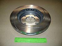 Диск тормозной ВАЗ 2110, 2111, 2112 передний вентилируемый c канавкой (Автореал). АМЕ10-3501070