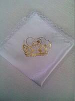 Свадебные платочки (атлас, печать) № 4
