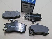 Колодки тормозные дисковые Самара ВАЗ 2108, 2109, 2110 (с мех. датчиком износа) (Dafmi). Д743СМИ