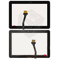Touchscreen (сенсорный экран) для Samsung Tab P7100, P7500, P7510, черный, оригинал