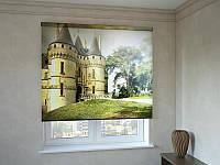 Рулонные шторы с фотопечатью милый замок