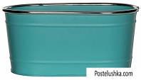 Горшок для цветов Greenware овальный Turquoise (172195)