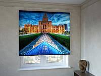 Рулонные шторы с фотопечатью дворец вечером