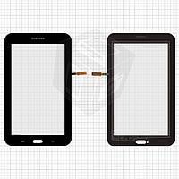 Сенсорный экран для Samsung Galaxy Tab 3 Lite 7.0 T110/T113 (версия 3G), оригинал (черный)