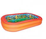 Надувной бассейн 54114 Bestway с 3D рисунком, фото 3