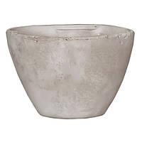 Горшок для цветов, глина, сиреневый Mica Decorations 1002836 Белый