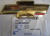 Эмблема решетки радиатора Авео Т-200,Лачетти крест. Шильдики шевроле купить.