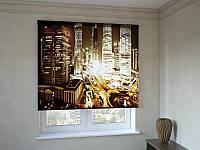 Рулонные шторы золотой Нью - Йорк