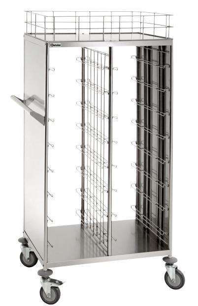 Тележка для транспортировки подносов/уборки посуды Bartscher 300083