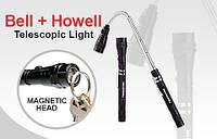 Фонарик телескопический с магнитом BELL+HOWELL