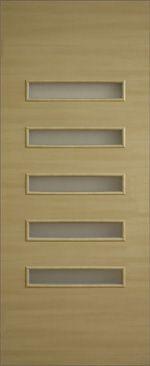 Дверное полотно ламинированные финиш пленкой Аккорд 3 ПО МДФ