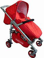 Прогулочная коляска Babylux Carita Ruby (208S красный) аналог Peg Perego Si