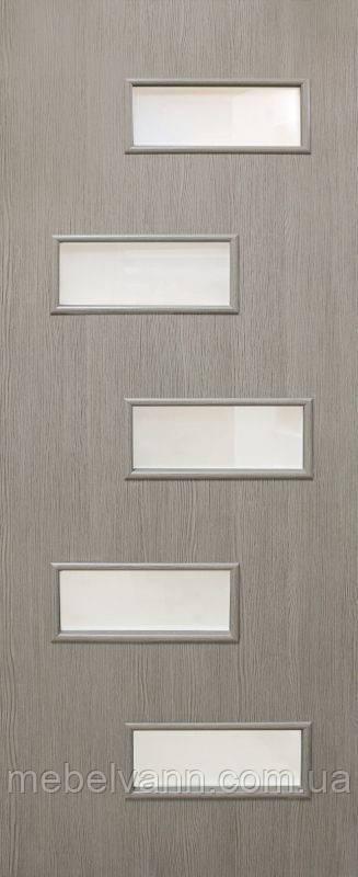 Дверное полотно ламинированные финиш пленкой Этюд ПО МДФ
