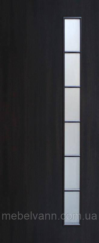 Дверное полотно ламинированные финиш пленкой Муза ПО МДФ