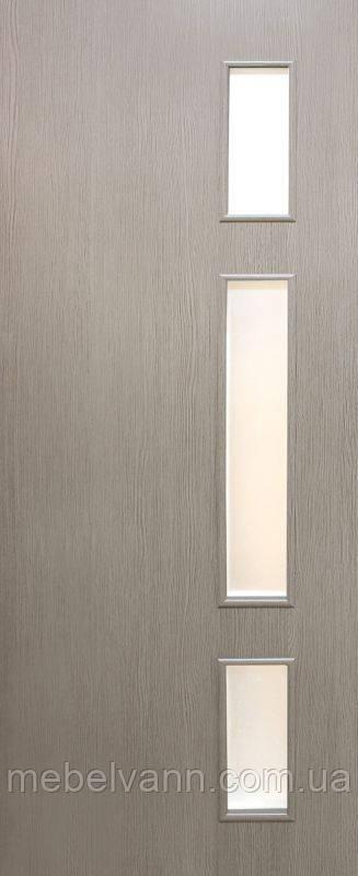 Дверное полотно ламинированные финиш пленкой Соло МДФ