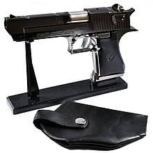 Зажигалка Пистолет с кобурой DESERT EAGLE №4423