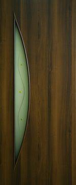 Дверное полотно ламинированные финиш пленкой Парус 2 + Ф МДФ