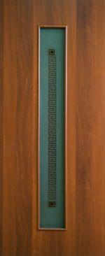 Дверное полотно ламинированные финиш пленкой Паллада 2 МДФ