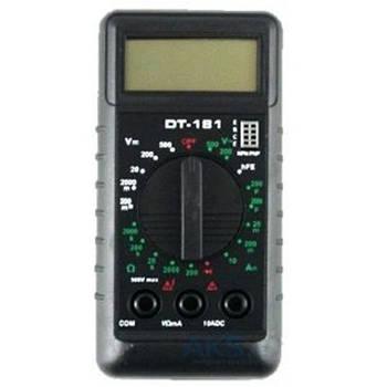 Компактный мультиметр dt-181, тестер цифровой