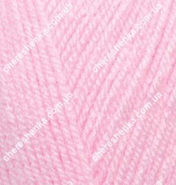 Нитки Alize Sekerim Bebe 191 розовый
