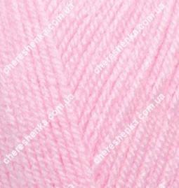 Нитки Alize Sekerim Bebe 191 розовый, фото 2