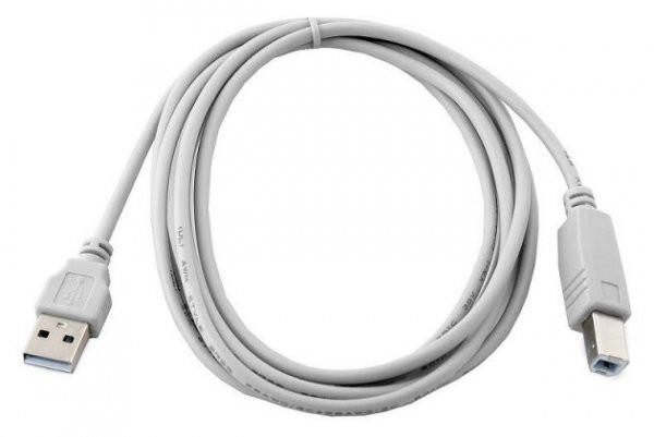 Кабель для принтера USB A-B (1,8м) GEMBIRD (CCP-USB2-AMBM-6G)